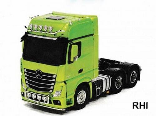 MB Actros 3363 Groen  Full Option. RTR  1/14