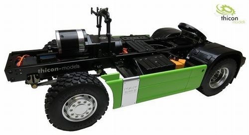 4x4 thicon chassis Versie 2  1/14