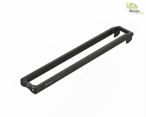 frame Set 2-assige (4x4) aluminium zwart  1/14