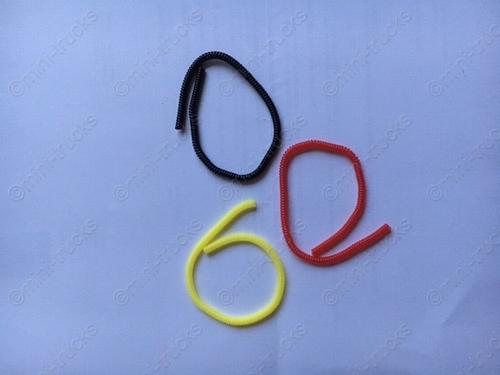 Lucht slangen rood geel zwart  3 stuks