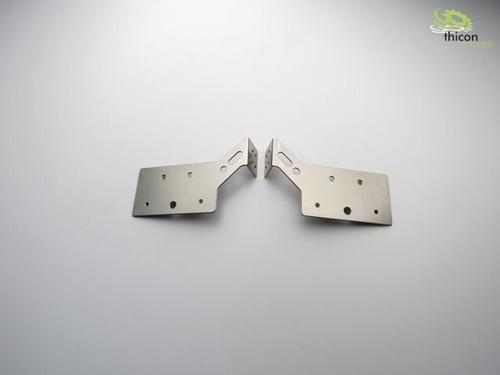 Achterlichthouder universeel aluminium  2 stuks