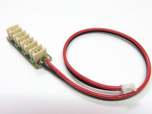 4-weg verdeler met kabel  1 stuks