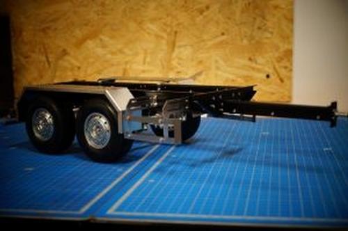 Aanhanger chassis  1/14