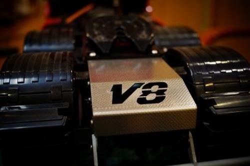 Achterplaat V8 MAN  1/14
