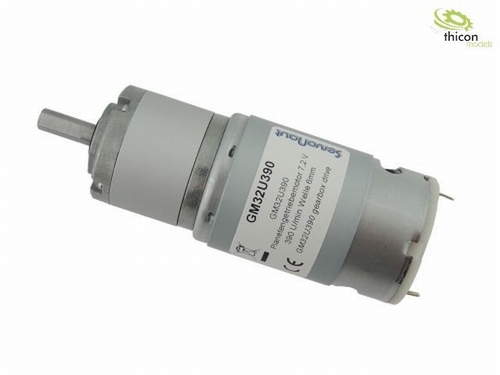 planetaire reductiemotor 7.2 V 390 U / min  1 stuks
