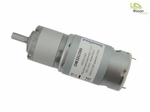 planetaire reductiemotor 7.2 V 390 U / min