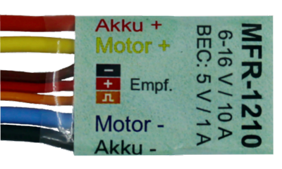 Mini cruise control MFR-1210  1 stuks