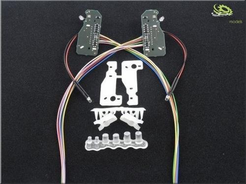 Mercedes benz Actros koplampen verlichting print
