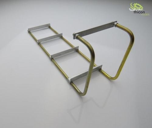 metalen ladder vooraf gebouwd voor zware toren