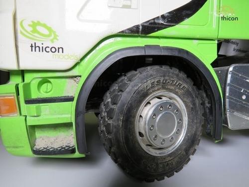 bredere wielkasten voor Tamiya Scania