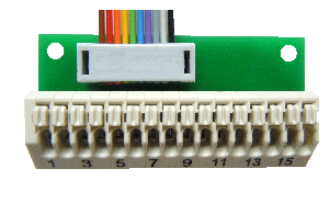 Verbindingsklem voor schakeluitgangen AKL-10 voor de UMS-02