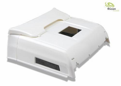 Hoog dak voor MAN TGX met LED ongeverf