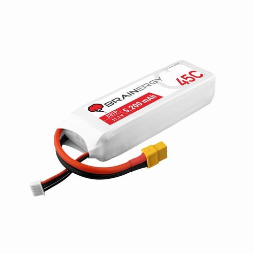Brainergy LiPo-batterij 3s1p 11.1V 5200mAh 45C XT60