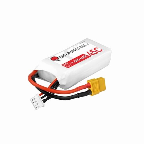 Brainergy LiPo-batterij 3s1p 11.1V 1000mAh 45C XT60