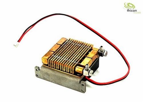 Hydraulische oliekoeler klein met ventilator
