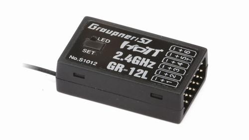 GR-12L 6-kanaals 2,4 GHz HoTT-ontvanger