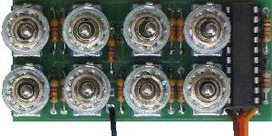 Eenkanaals multiswitch-modules EMS-16-G (Graupner)
