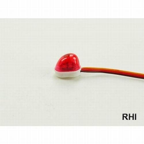 Zwaailicht rood vorm oval