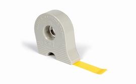 Maskeer tape met afroller 18 mm  1 stuks