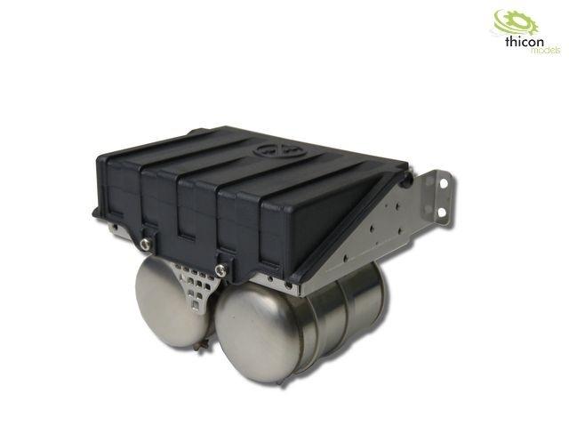 Batterijhouder breed gemaakt voor Tamiya-vrachtwagen