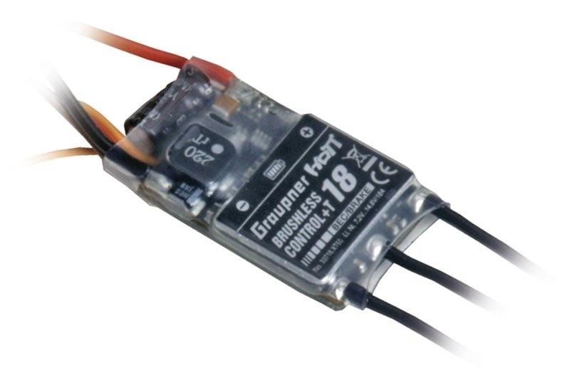 Brushless T18 regelaar met BEC
