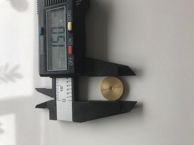 Draadschijf/Katrolschijf 15mm