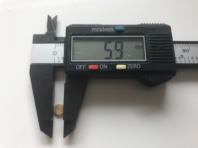 Draadschijf/Katrolschijf 6mm
