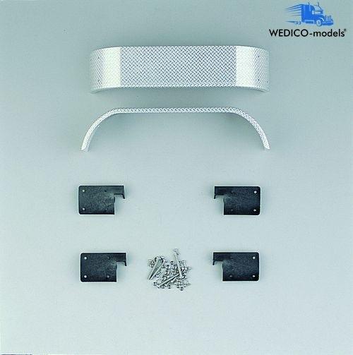 Dubbele spatborden, tranenplaat voor WEDICO-modellen
