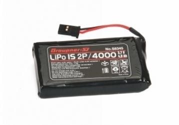 Graupner Senderakku LiPo 1S2P / 4000 TX