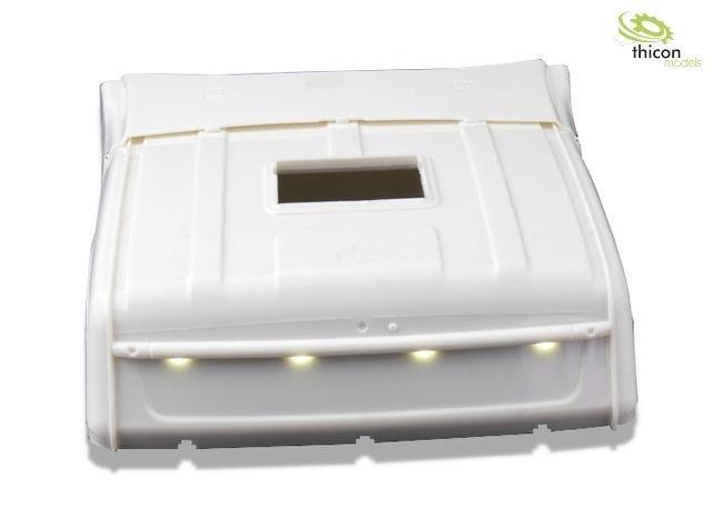 Hoog dak voor Scania R620 met LED ongeverf