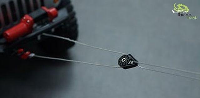 Schaalpoelie voor lieren staal zwart