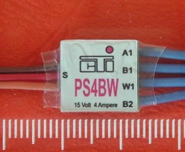 Schakelmodule 4-voudig met indicator