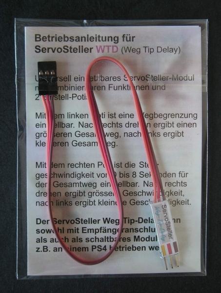 Servo-actuator slag-tip vertraging