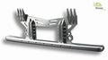 Bumper bescherming aluminium voor Mercedes Actros 1/14