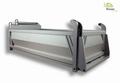 Kiepbak  6x6 truck aluminium met ladder 1/14