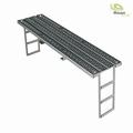Loopbrug V2A met zijwaarts verlengbare ladders. 1/14