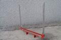 Staander voor houttrailer of andere trailers 1 stuks