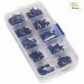 zwart stalen binnenzeskantschroeven in doos 3mm 300ST