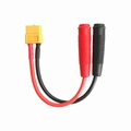 Adapter XT60 socket «-» Ø4.0mm banaan socket