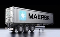 40-foot container-oplegger (maersk) 1/14
