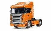 Een complete set Scania R470 Highline oranje  1/14