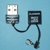 Micro-SD-kaartlezer Micro-SD-kaart 1 stuks