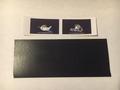 Spatlap met sticker  1 stuks