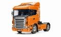 Scania R470 Highline oranje uitvoering 1/14