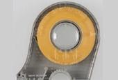 Maskeer tape met afroller 10 mm 1 stuks
